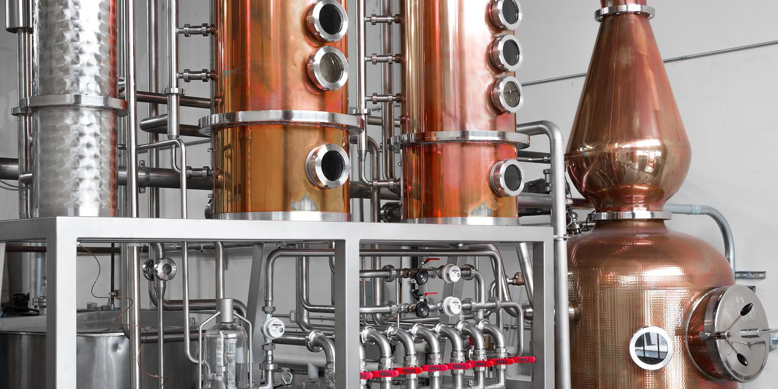 Nutrl Vodka Distillery
